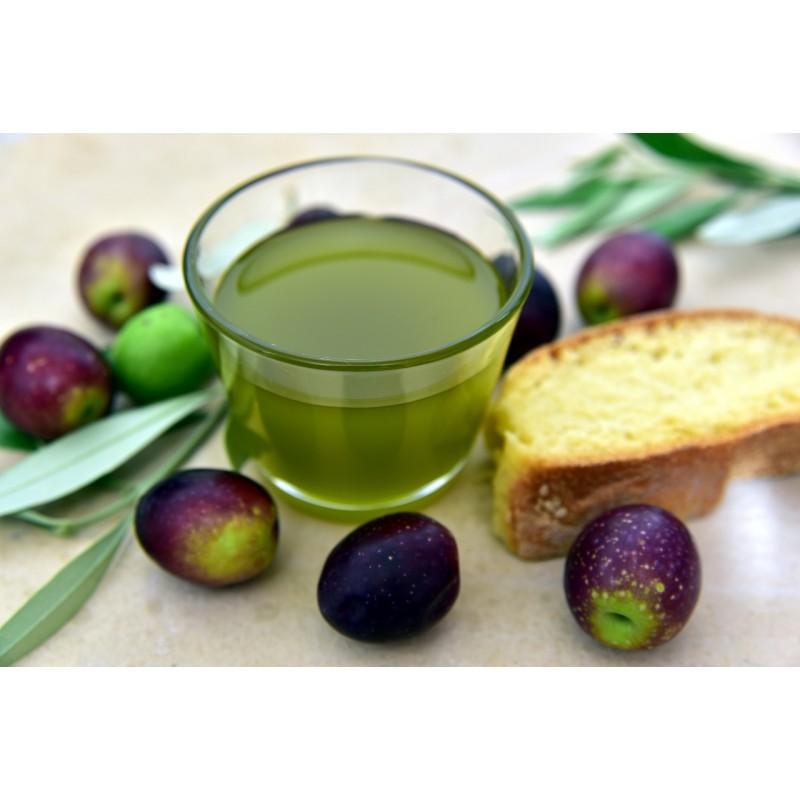 Olio Extra Vergine di Oliva Italiano prodotto da olive 100% siciliane