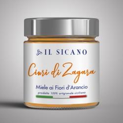 Miele Fiori di Zagara estratto dagli alberi di Arance di Ribera e limoni e mandarini dei nostri agrumeti