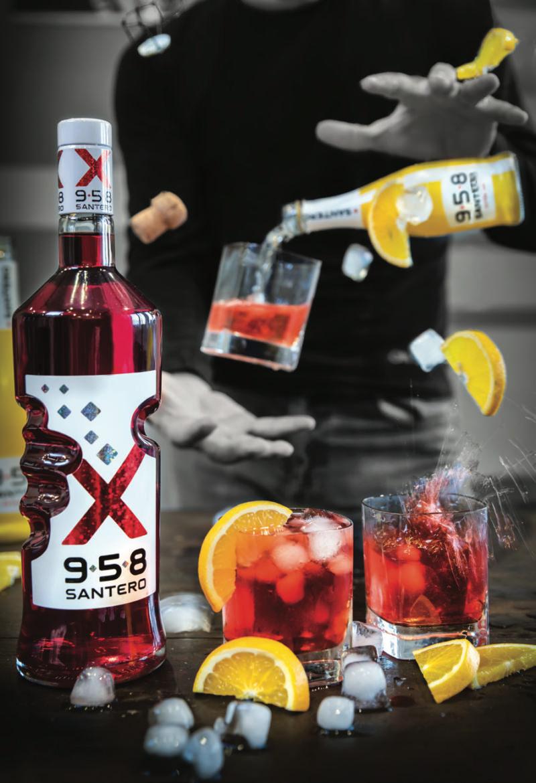 Cocktail Lucifero con Succo di Arance di Ribera