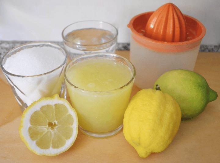 Ricetta Granita di Limoni Siciliani